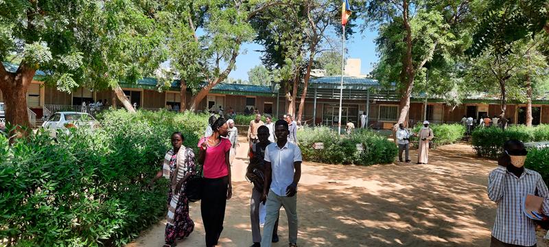 Admission à l'École Normale Supérieure de  N'Djamena
